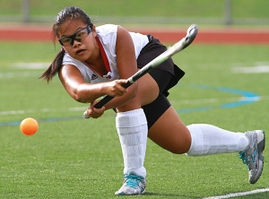 Morristown-Beard's YinYin Petersen drives the ball.