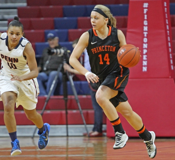 Chatham High School graduate Amanda Berntsen helped Princeton to a 31-1 record.