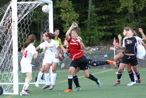 Parsippany Hills scored in the 75th minute of the second half to knot the score, 1-1.