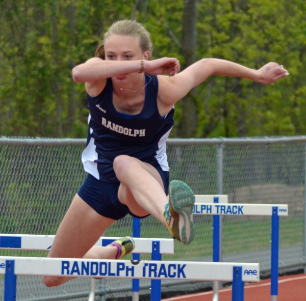 Meghan O'Malley, a sophomore, competed in four events for Randolph, which won the Morris County Relays for the seventh time in 10 years.